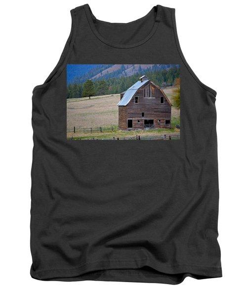 Old Barn In Washington Tank Top