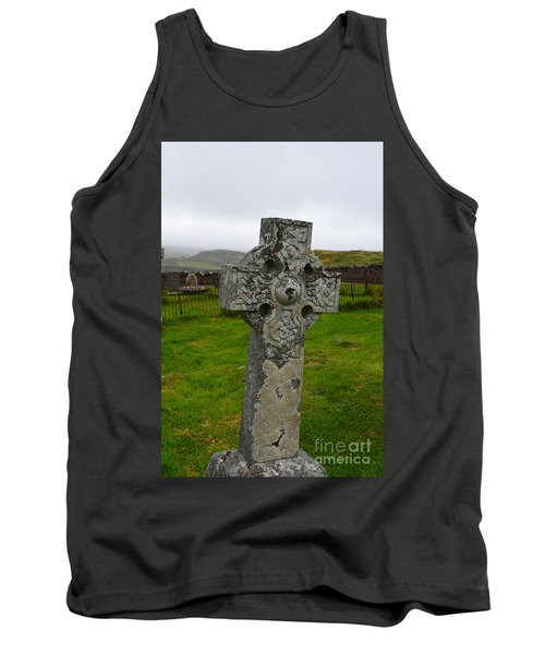 Old Cemetery Stones In Scotland Tank Top