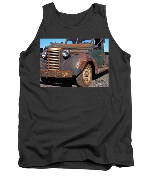 Old Chevy Tank Top
