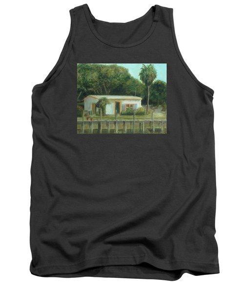 Old Florida Fish Camp And Marina Tank Top