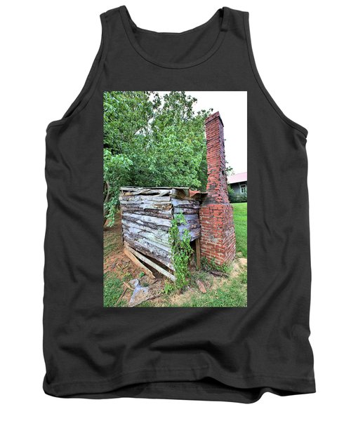 Tank Top featuring the photograph Old Georgia Smokehouse by Gordon Elwell