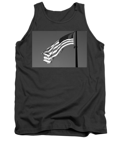 Tank Top featuring the photograph Old Glory by Ron White
