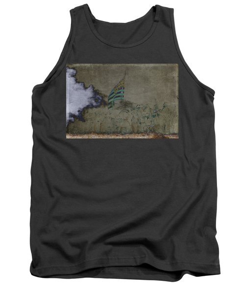 Old Glory Standoff Tank Top by Wes and Dotty Weber