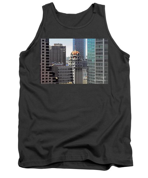 Tank Top featuring the photograph Old Humboldt Bank Building In San Francisco by Susan Wiedmann