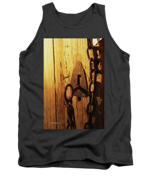 Old Lock And Key Tank Top