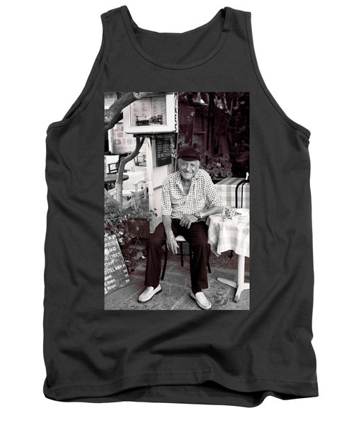 Old Man Of Old Town Tank Top