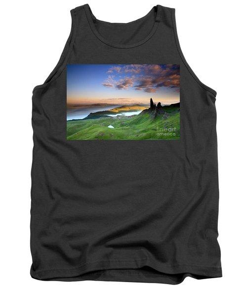 Tank Top featuring the photograph  Scotland Old Man Of Storr Isle Of Skye by Mariusz Czajkowski
