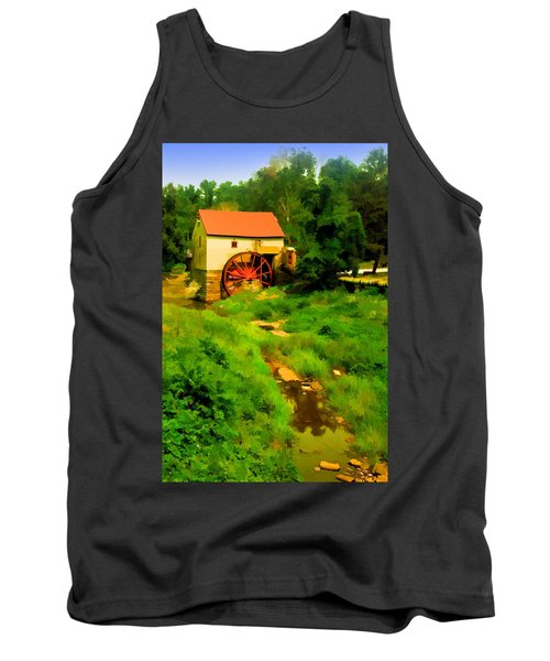 Old Mill In Springtime Tank Top