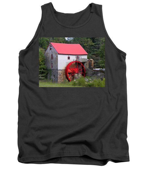 Tank Top featuring the photograph Old Mill Of Guilford by Sandi OReilly