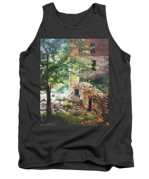 Old Mill Stream I Tank Top