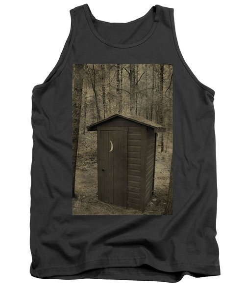 Old Outhouse Out Back Tank Top