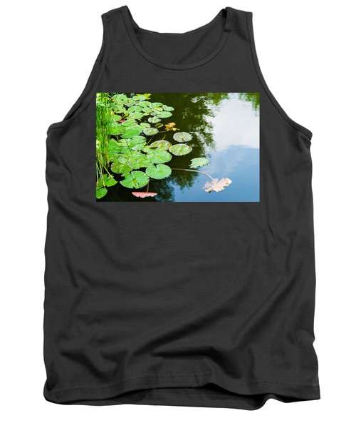 Old Pond - Featured 3 Tank Top by Alexander Senin