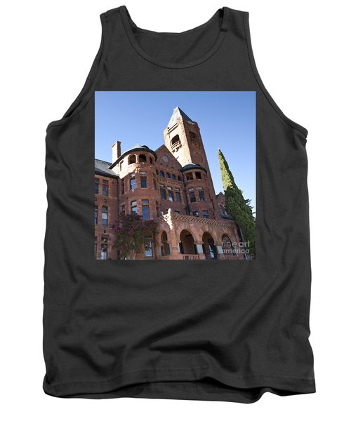 Tank Top featuring the photograph Old Preston Castle by David Millenheft