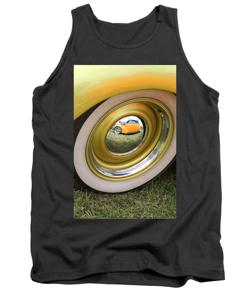 Old School Reflection Take 2 Tank Top