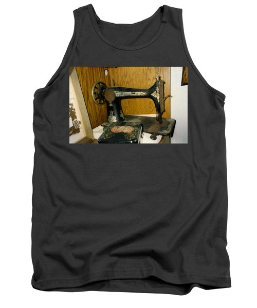 Old Sewing Machine Tank Top