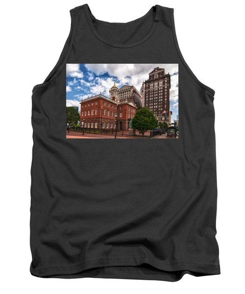 Old State House Tank Top by Guy Whiteley