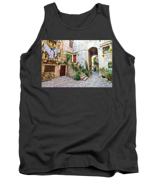 Old Stone Street Of Trogir Tank Top by Brch Photography