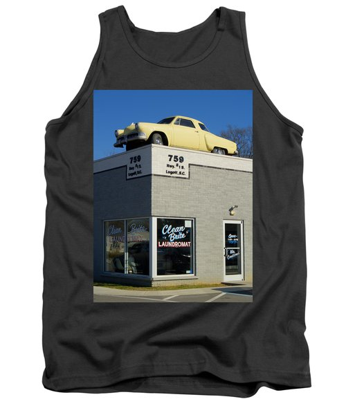 Old Studebaker Building Tank Top