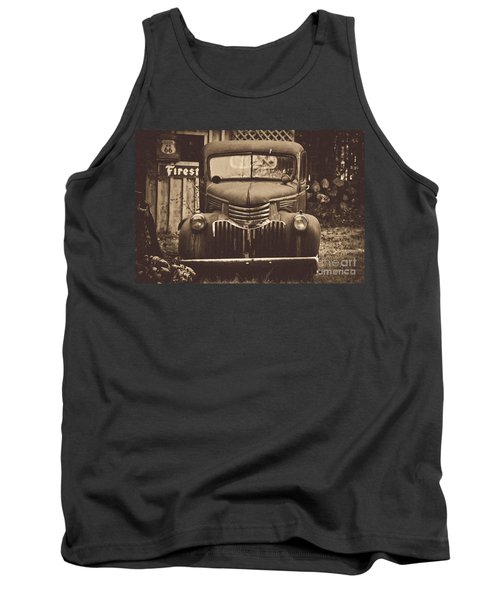 Tank Top featuring the photograph Old Times by Alana Ranney