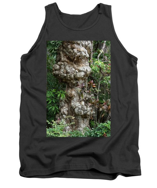 Tank Top featuring the mixed media Old Tree by Rafael Salazar