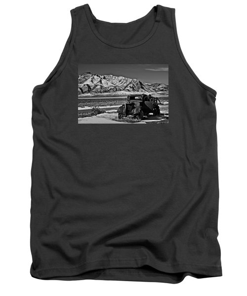 Old Truck Tank Top by Robert Bales