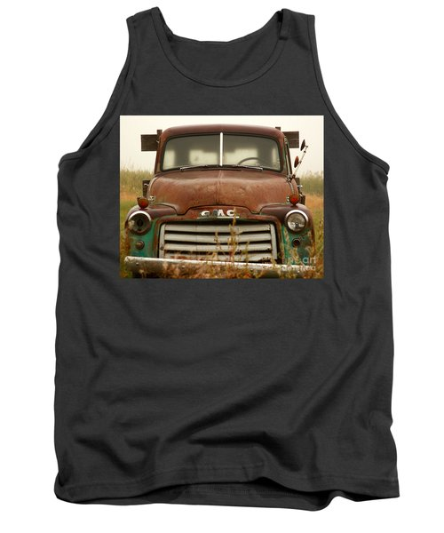 Old Truck Tank Top by Steven Reed