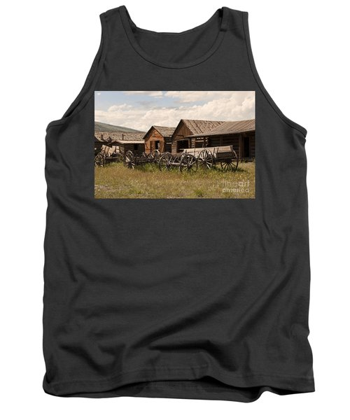 Old West Wyoming  Tank Top