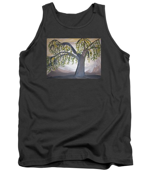 Old Willow Tank Top by Cathy Anderson