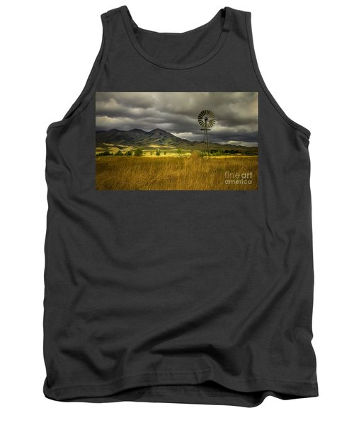 Old Windmill Tank Top by Robert Bales