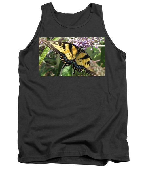 Tank Top featuring the photograph Old World Swallowtail by Jennifer Wheatley Wolf