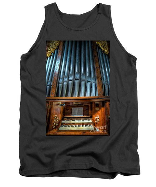Olde Church Organ Tank Top