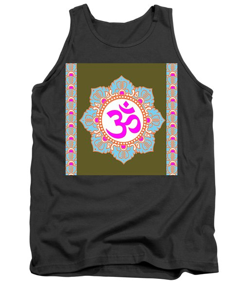 Tank Top featuring the photograph Om Mantra Ommantra 3 by Navin Joshi
