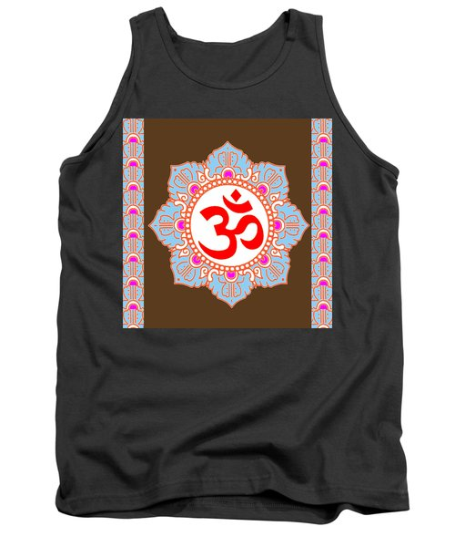Tank Top featuring the photograph Om Mantra Ommantra by Navin Joshi