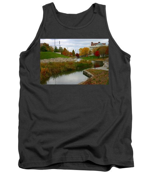 Tank Top featuring the photograph Omaha In Color by Elizabeth Winter