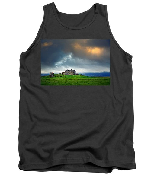 On The Road To Hofn Tank Top by Ian Good