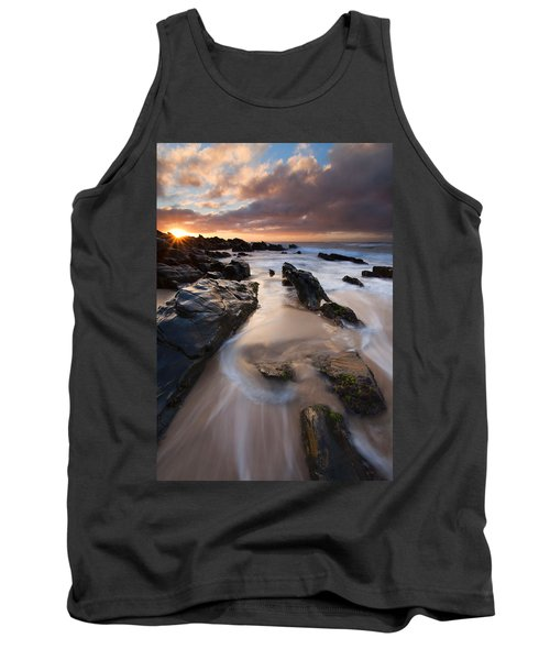 On The Rocks Tank Top by Mike  Dawson