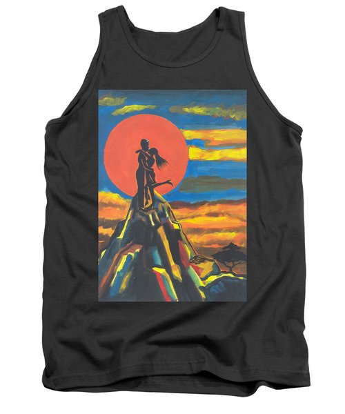 On The Summit Of Love Tank Top