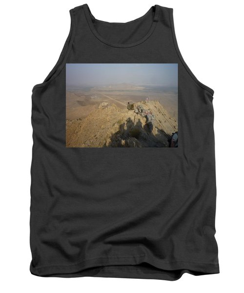 On Top Of A Mountain Tank Top
