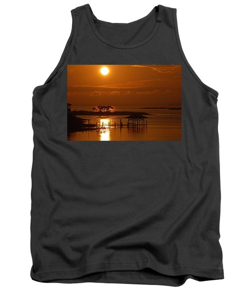 On Top Of Tacky Jacks Sunrise Tank Top by Michael Thomas