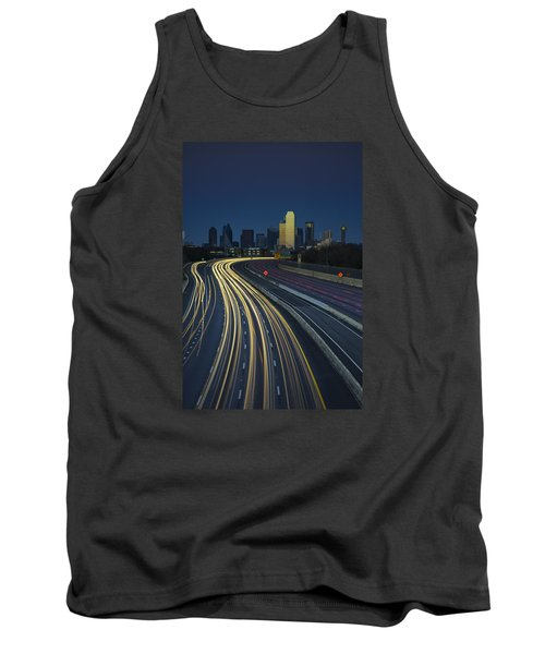 Oncoming Traffic Tank Top by Rick Berk
