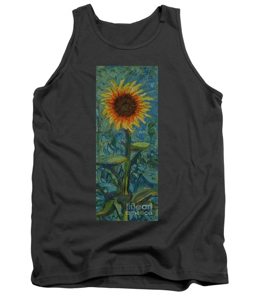 One Sunflower - Sold Tank Top