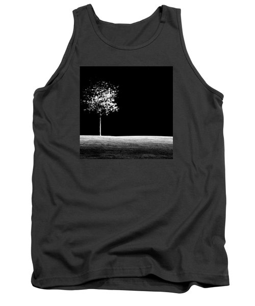 Tank Top featuring the photograph One Tree Hill by Darryl Dalton