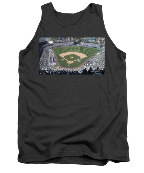 Opening Day Upper Deck Tank Top by Chris Tarpening