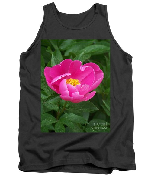Tank Top featuring the photograph Peony  by Eunice Miller