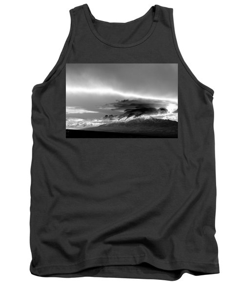 Tank Top featuring the photograph Oquirrh Range Utah by Ron White
