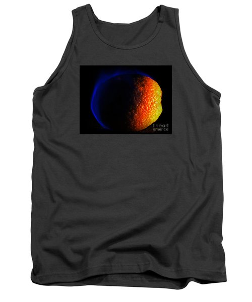 Orange And Blue Tank Top by Paul  Wilford