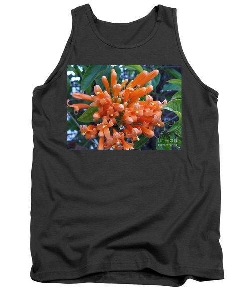 Orange Petals Tank Top