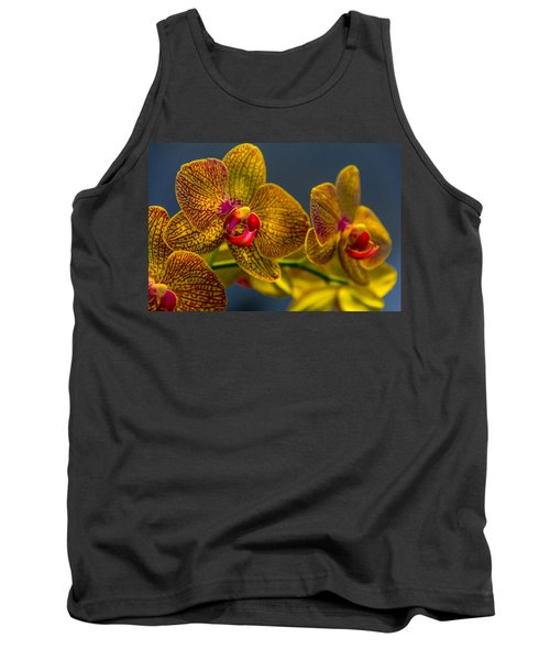Orchid Color Tank Top by Marvin Spates