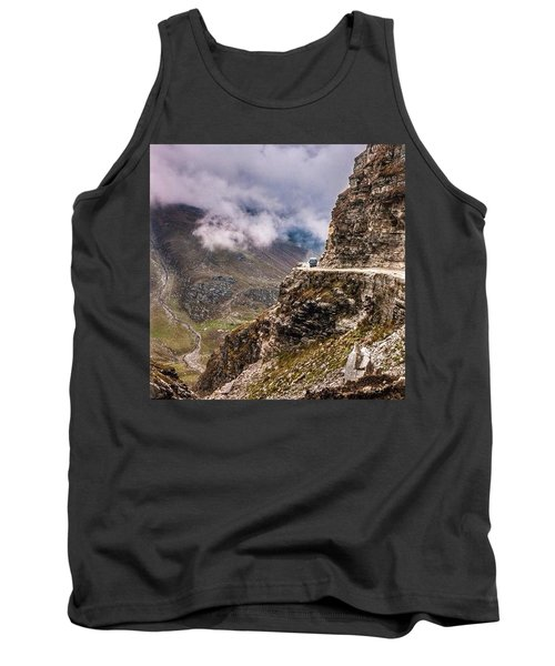 Our Bus Journey Through The Himalayas Tank Top