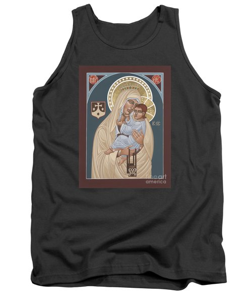 Tank Top featuring the painting Our Lady Of Mt. Carmel 255 by William Hart McNichols